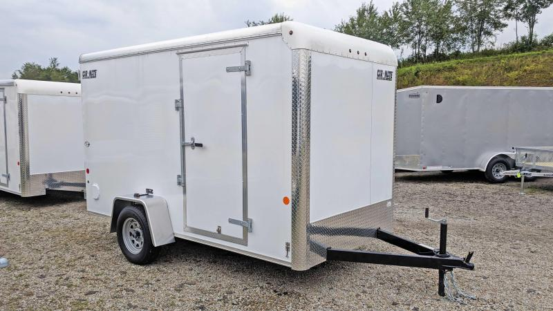 "NEW 2020 Car Mate 6x12 Custom Cargo Trailer w/ Barn Doors (6"" Add'l Height)"