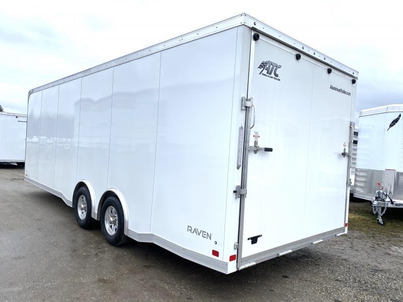 NEW 2020 ATC 8.5 x 24 Raven Aluminum Enclosed Car Hauler w/ Ramp