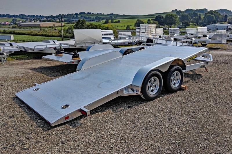 "NEW 2021 Aluma 16' (20"" Stationary + 16' Tilt) Tilt Trailer"