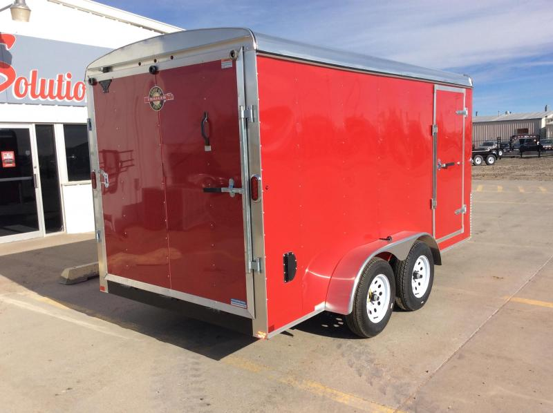 2020 Carry-On 7X14 Enclosed Cargo Trailer