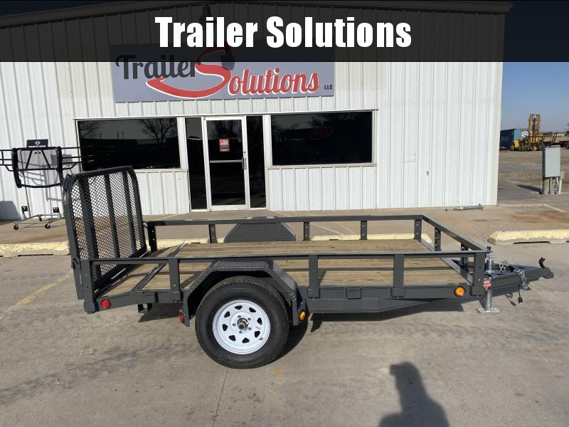 "2020 PJ 10' x 60"" Single Axle Channel Utility Trailer"