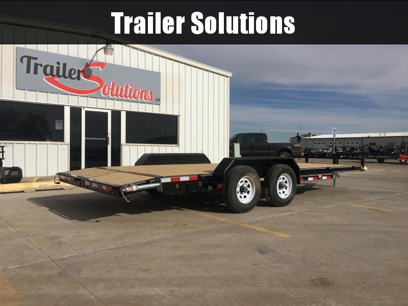 "2020 PJ 20' x 83"" 5"" Channel Equipment Trailer"