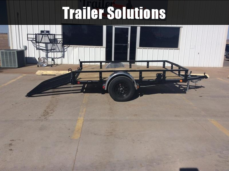 "2020 PJ 10' x 77"" Single Axle Channel Utility"