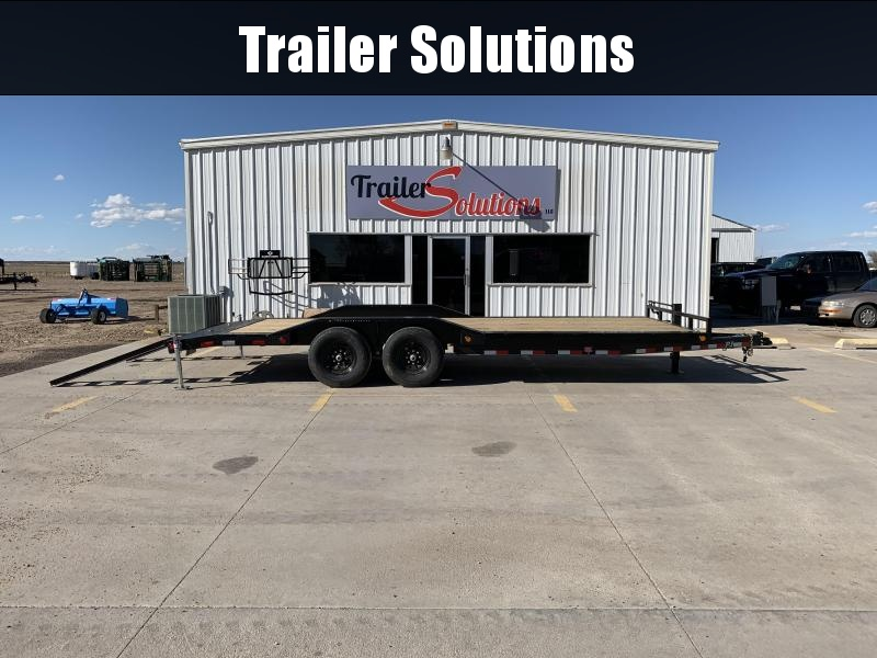 "2020 PJ 22' x 6"" Channel Super-Wide Trailer"