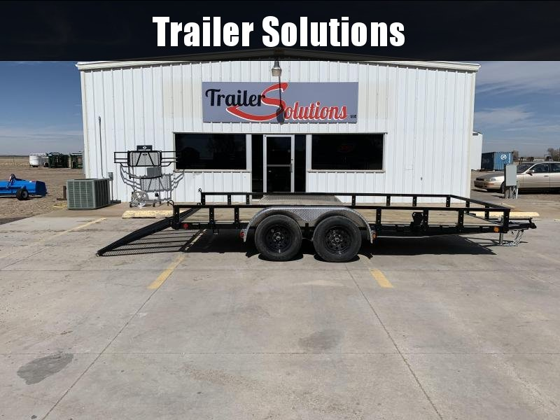 "2020 PJ 16' x 83"" Tandem Axle Channel Utility Trailer"