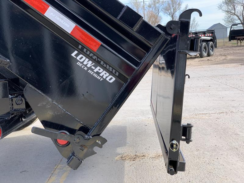 "2020 PJ 12'  X 83""  Low Pro Dump Trailer"