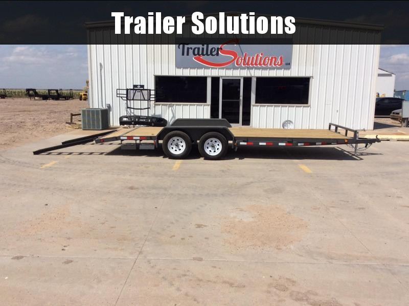 "2020 PJ 20' x 83"" 4"" Channel Carhauler Trailer"