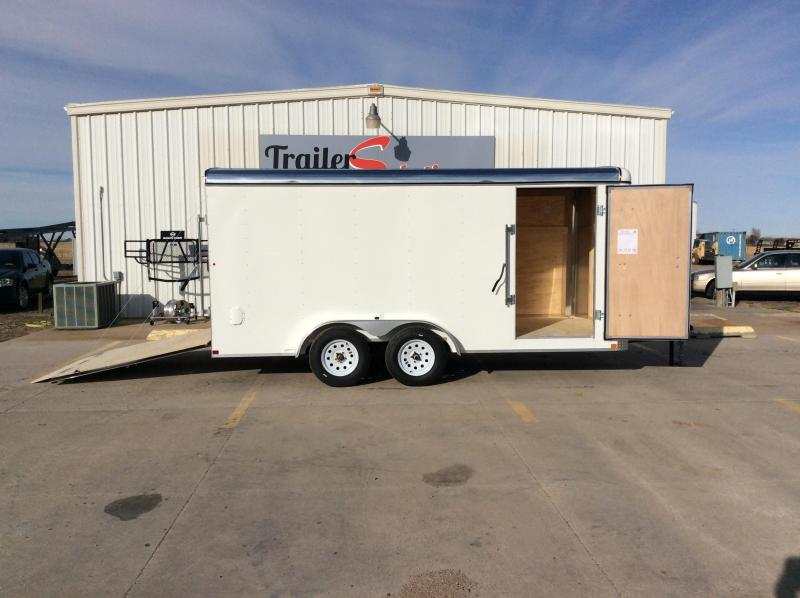 2020 Carry-On 7X16 Enclosed Cargo Trailer
