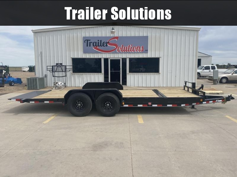 "2020 PJ 20' x 6"" Channel Equipment Tilt Trailer"