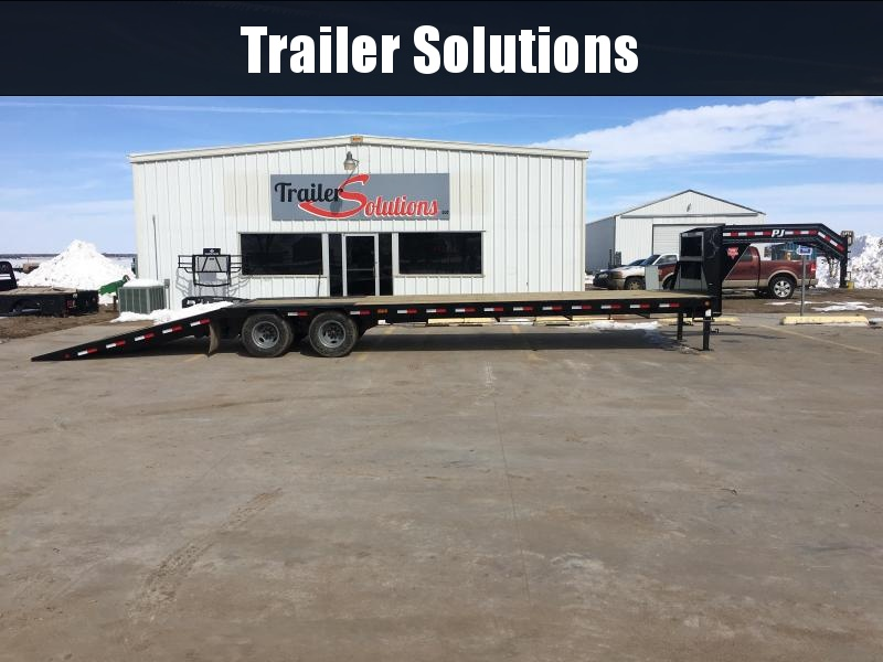 "2020 PJ 36' x 102"" Low Pro with Hydraulic Dove Trailer"