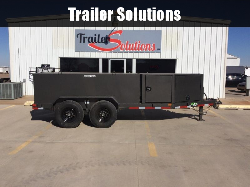 2020 AAA Trailer Sales 60 x 12 Fuel Trailer
