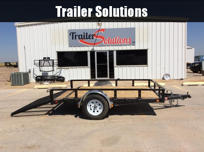 "2020 PJ 10' x 83"" Single Axle Channel Utility Trailer"