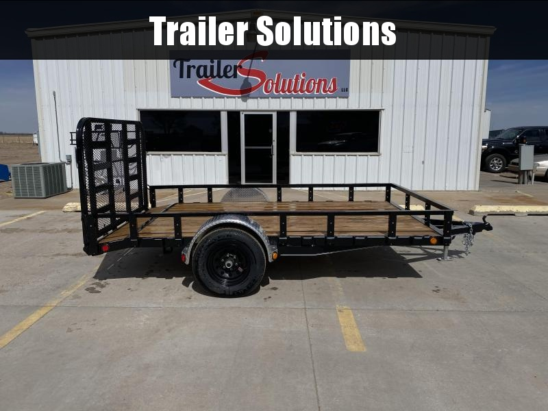 "2020 PJ 12' x 83"" Single Axle Channel Utility Trailer"