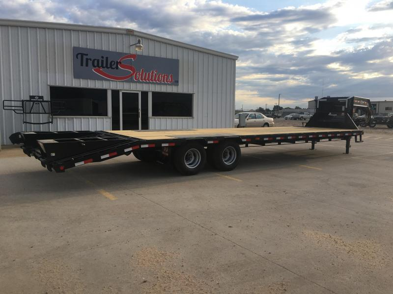 "2020 PJ 32' x 102"" Low Pro Flatdeck with Duals"