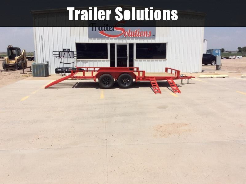 "2020 PJ 16' x 77"" Tandem Axle Channel Utility Trailer"