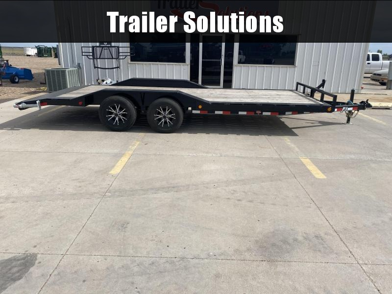 "2020 PJ 20' x 5"" Channel Buggy Hauler Trailer"