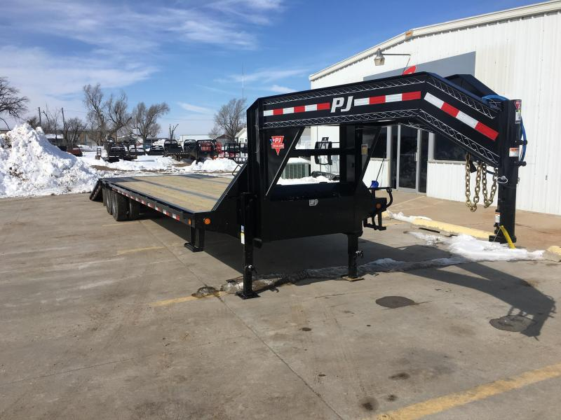 "2020 PJ 36' x 102"" Low Pro with Hydraulic Dove"