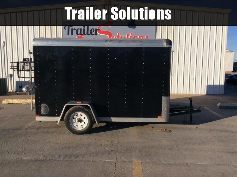 2013 DooLitttle  2013 6' x 10' Used Enclosed Trailer