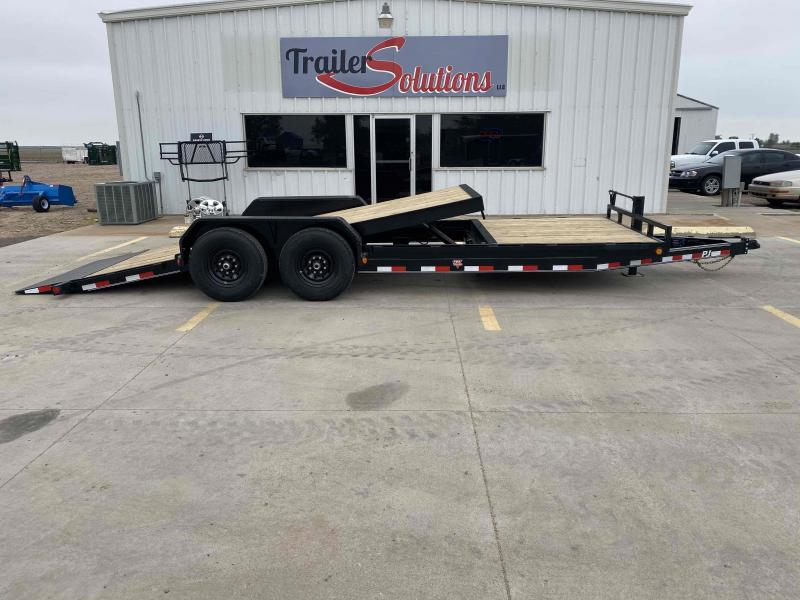 "2020 PJ 22' x 6"" Channel Equipment Tilt Trailer"