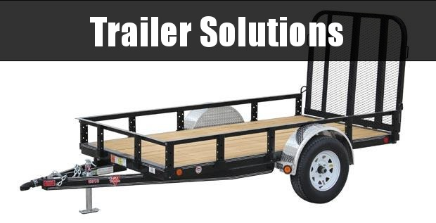 """2020 PJ 10' x 60"""" Single Axle Channel Utility Trailer"""