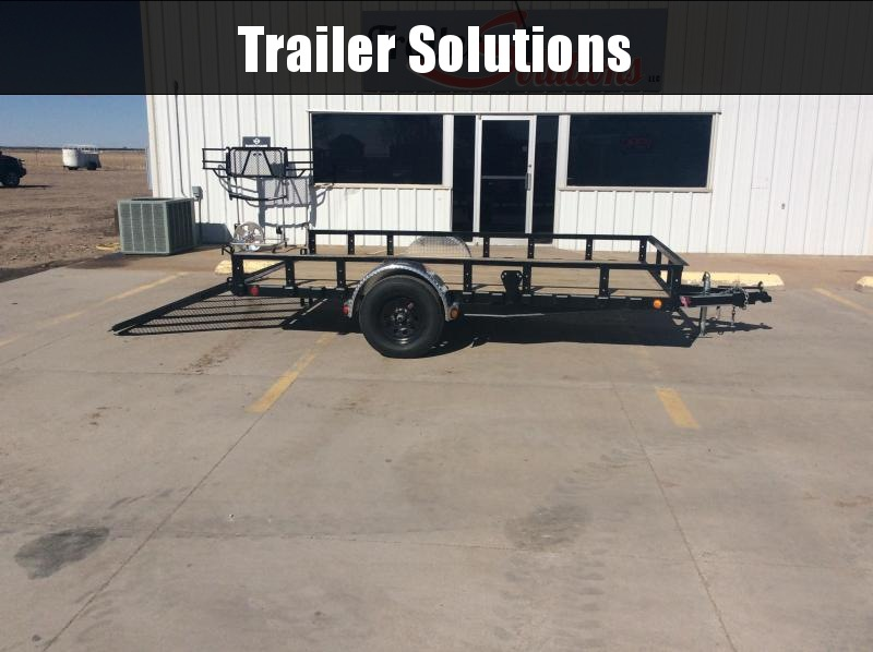 2020 PJ Trailers 83 in. Single Axle Channel Utility Trailer
