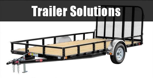2020 PJ Trailers 83 in. Single Axle Channel Utility (U8) Utility Trailer