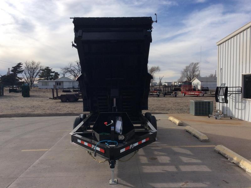 """2020 PJ 14' X 83"""" Low Pro Dump Trailer (DL)"""