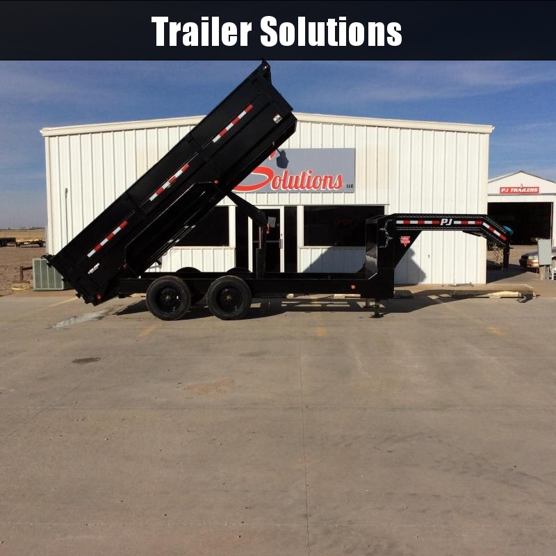 "2020 PJ 16' x  83"" HD Low-Pro Dump Trailer"