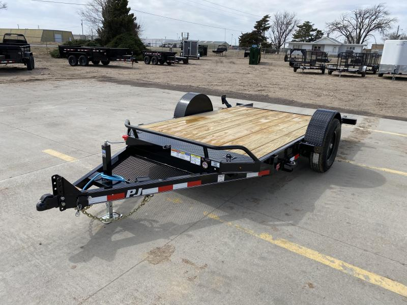 "2020 PJ 13' x 83"" Single Axle HD Tilt"