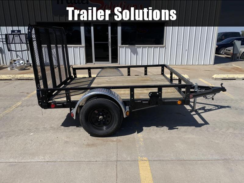 """2020 PJ 8' x 77"""" Single Axle Channel Utility Trailer"""