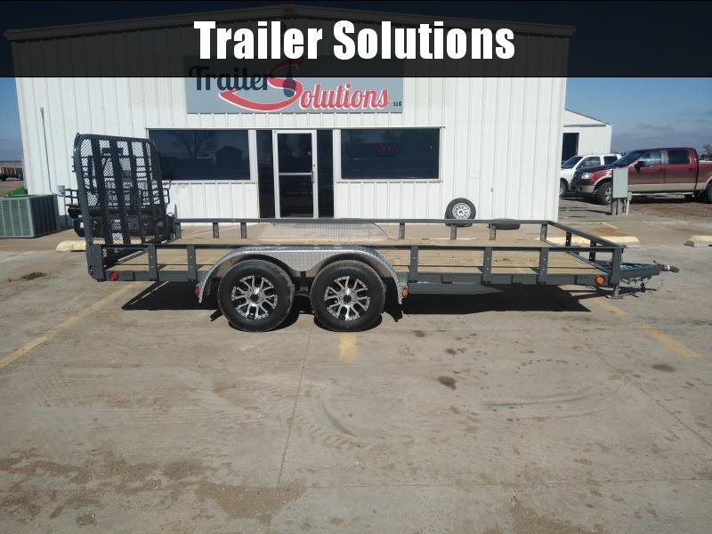 "2019 PJ 16' x 83"" Tandem Axle Channel Utility Trailer"