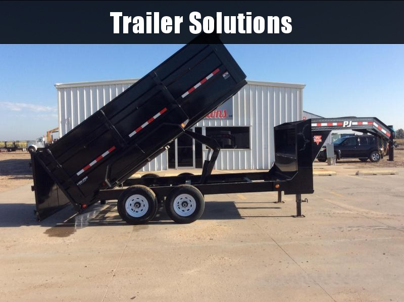 "2020 PJ 14' x 83"" Low Pro High Side Gooseneck Dump Trailer"