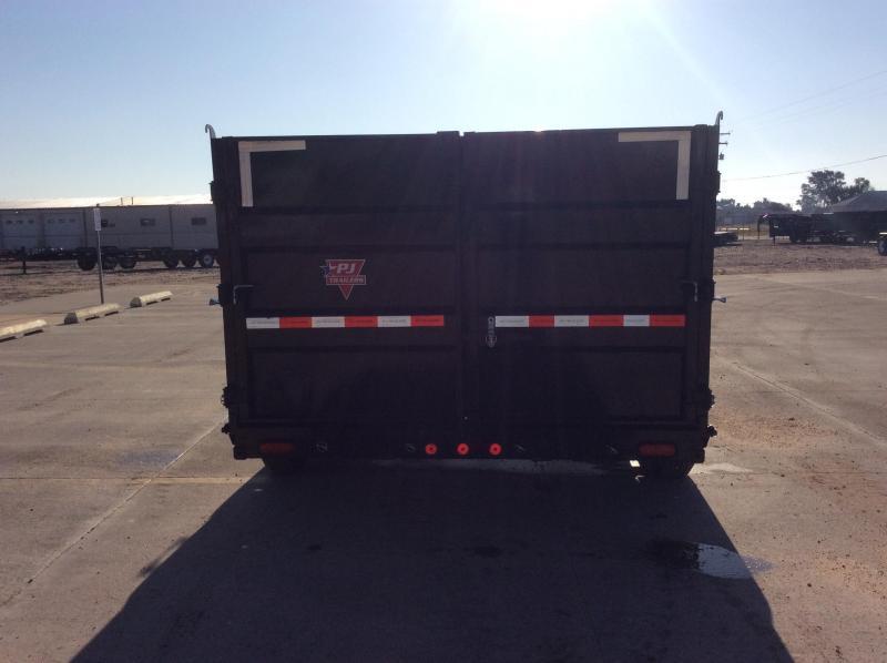 "2020 PJ 14' x 83"" Low Pro High Side Gooseneck Dump Trailer"