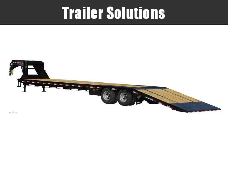 """2020 PJ 40' x 102"""" Low-Pro with Hydraulic Dove Trailer"""