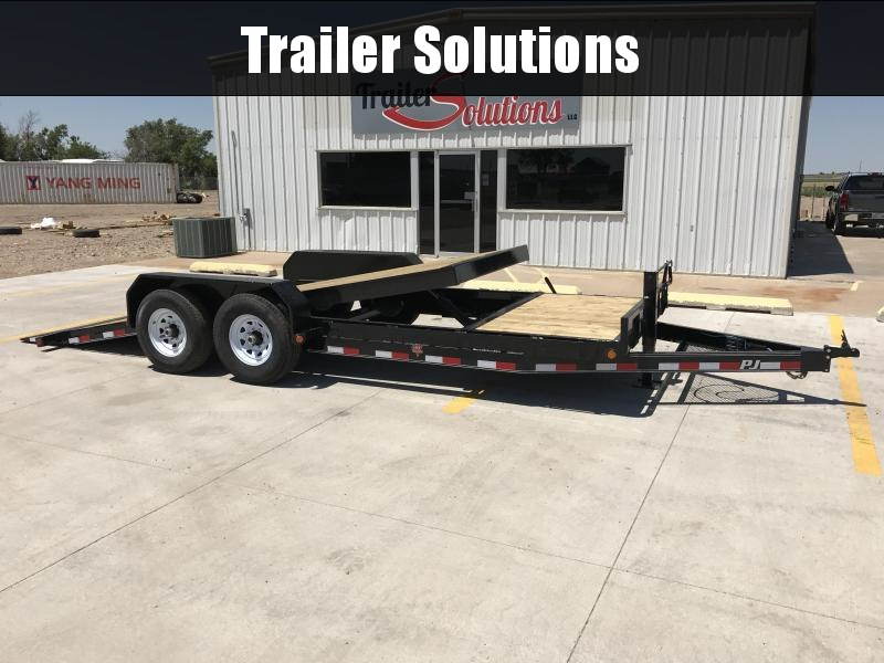"2020 PJ 22' x 83"" 6"" Channel Euipment Tilt Trailer"
