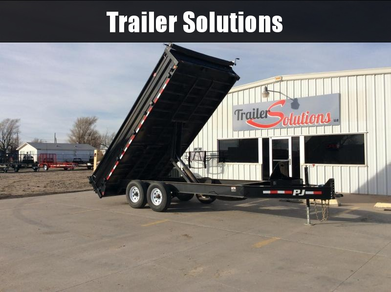 2018 PJ Trailers Dump Trailer Dump Trailer