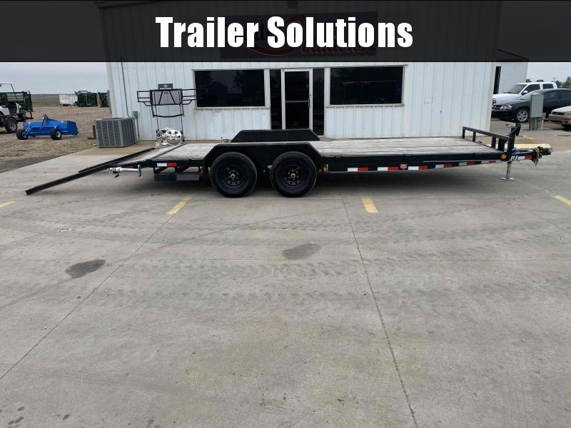 "2020 PJ 20' x 5"" Channel Equipment Trailer"