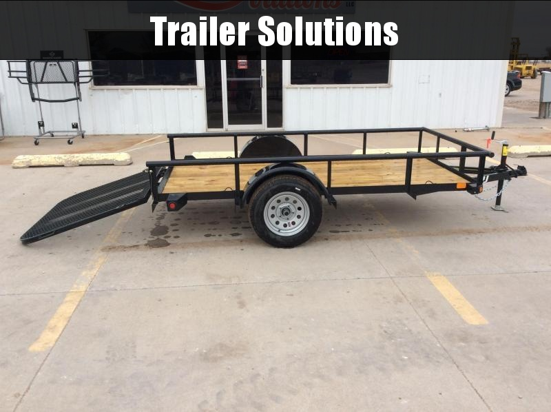 "2020 PJ 10' x 60"" Angle Utility Trailer"