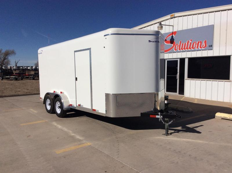 2020 Sharp 7X16'-TA SHARP Enclosed Cargo Trailer