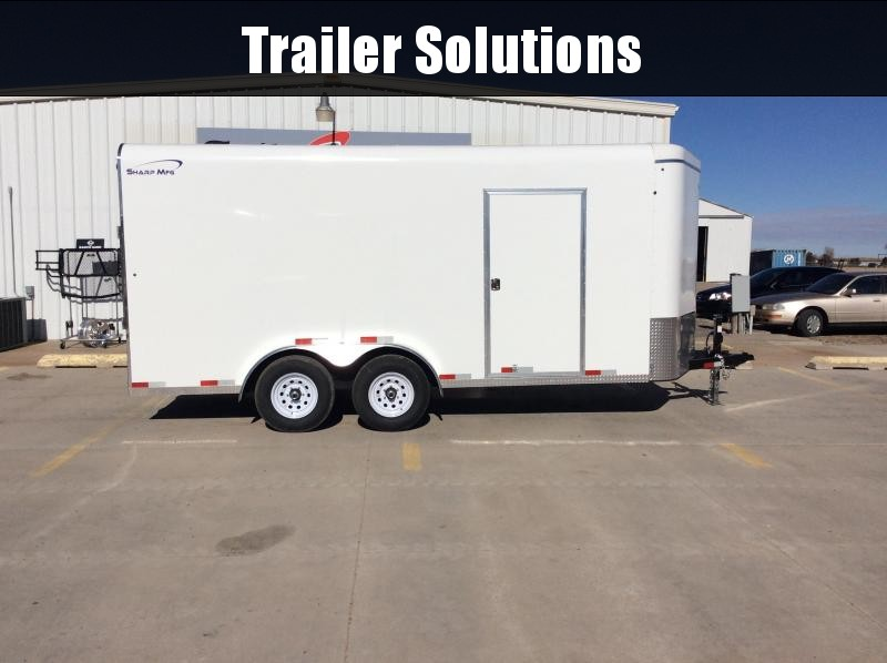 2020 Sharp 7X16' Sharp Enclosed Trailer