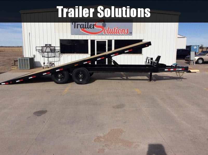 "2020 PJ 22' x 102"" Deck over Tilt Trailer"
