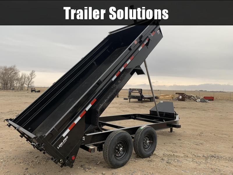 "2020 PJ 14' x 83"" Low Pro Telescopic Dump Trailer"