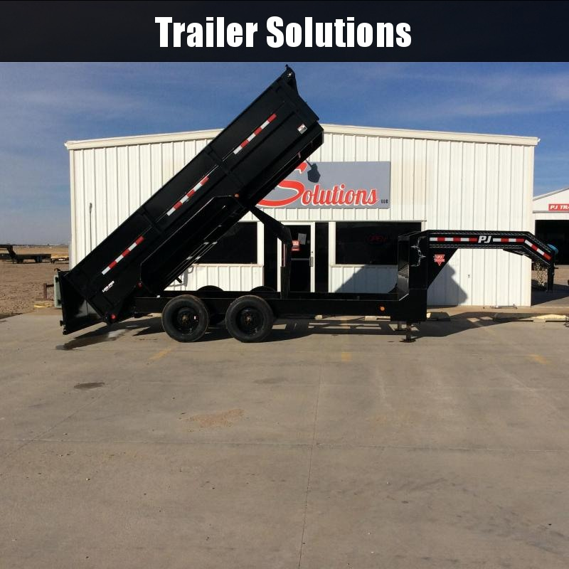 "2020 PJ 16' x 83"" HD Low Pro Dump Trailer"