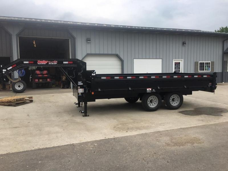 2019 Load Trail 96x16 GOOSENECK Dump Trailer