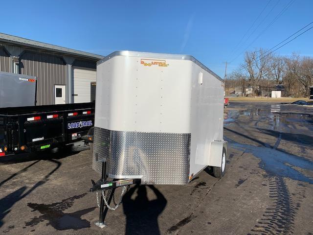 2020 Doolittle Trailer Mfg 6X10 DOOLITTLE CARGO WHITE Enclosed Cargo Trailer