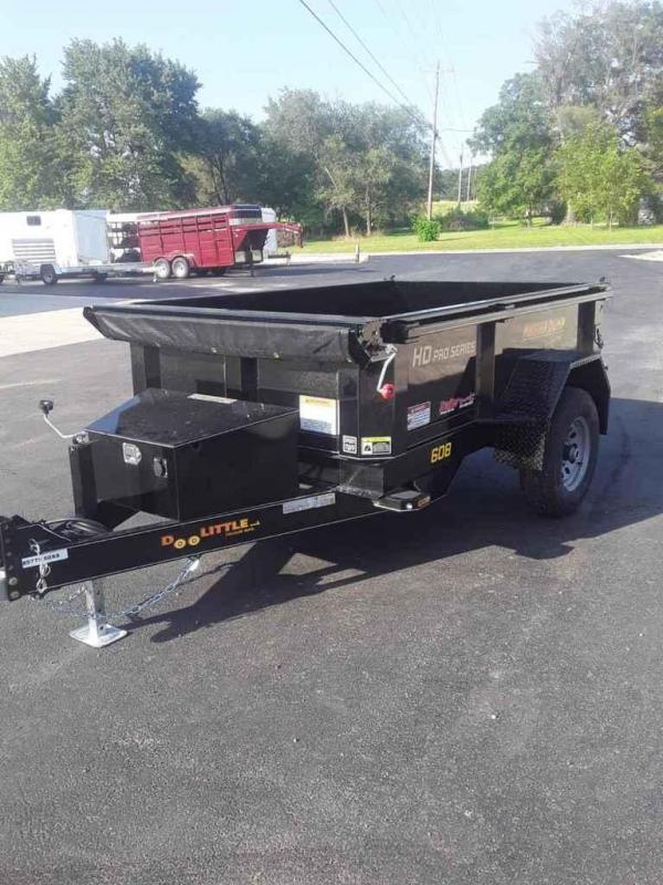 2020 Doolittle Trailer Mfg 2020 60X8 DOOLITTLE DUMP W/ TARP BLACK Dump Trailer