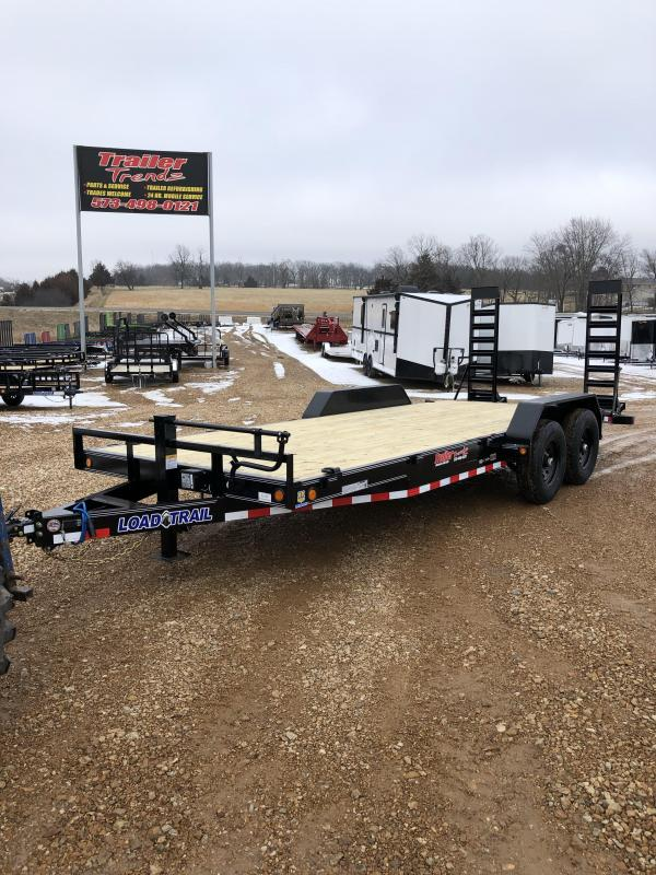 2020 Load Trail 83X20 LOAD TRAIL CARHAULER Flatbed Trailer
