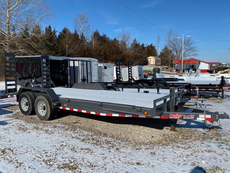 2019 Load Trail 83X20 LOAD TRAIL CARHAULER Flatbed Trailer