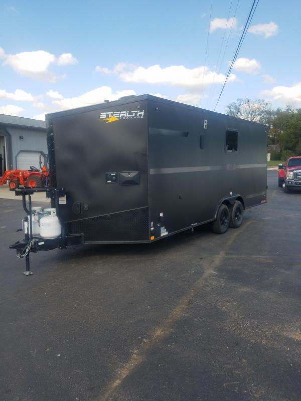 2020 Stealth Trailers 8.5X20 STEALTH NOMAD 10K GVW PLATINUM PACKAGE Car / Racing Trailer