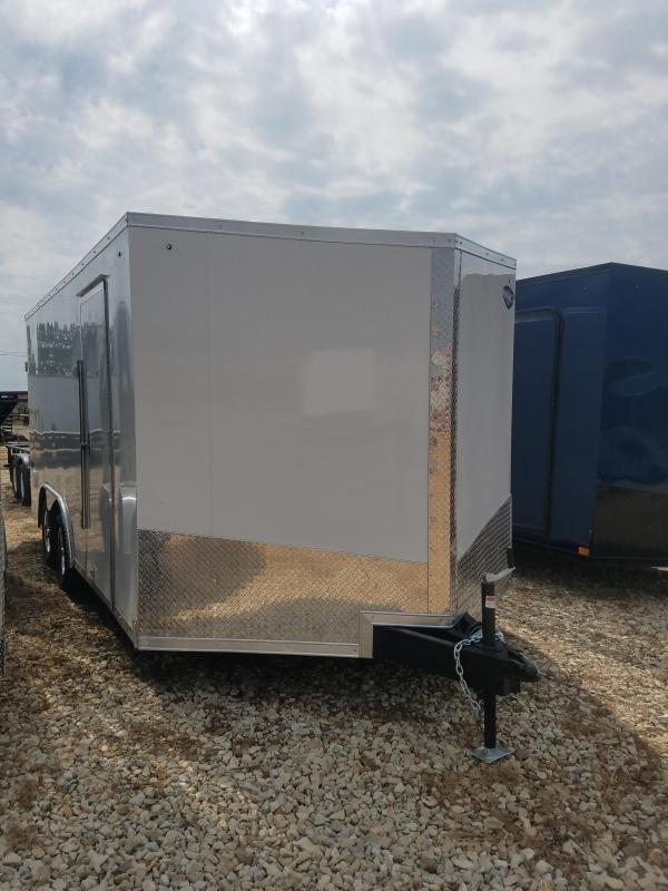 2020 Impact Trailers 8.5X16 IMPACT TREMOR REAR RAMP/SIDE DOOR Enclosed Cargo Trailer